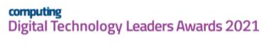 Computing's Digital Technology Leaders Awards 2021 Finalist!